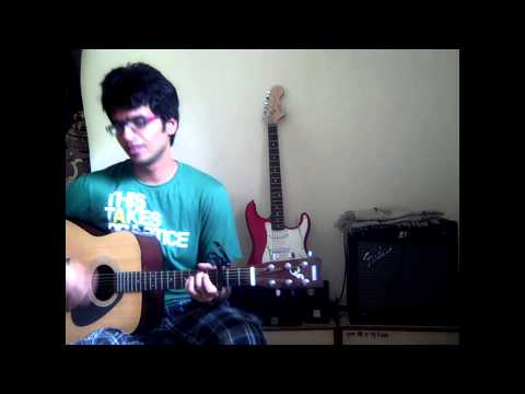 Jeene Laga Hoon | Ramaiya Vastavaiya | Unplugged Guitar Cover | With Chords video