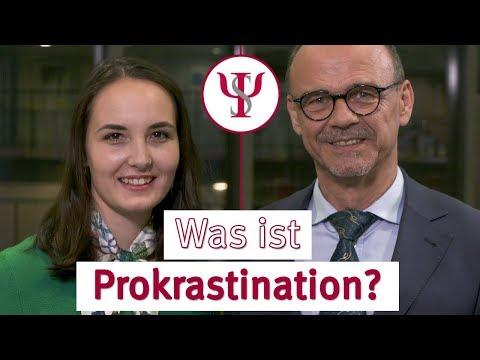 Was ist Prokrastination? | Psychologie mit Prof. Erb