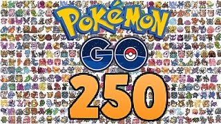 All 250 pokemon in Pokemon GO - Update - HD