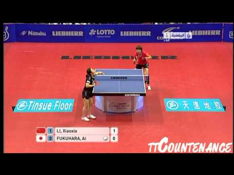 World Team Cup: Li Xiaoxia-Ai Fukuhara