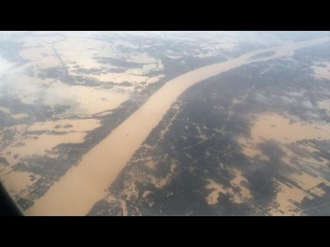 Floods hit Malaysia's north-east