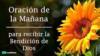 Oración de la Mañana para ser bendecido por DIOS