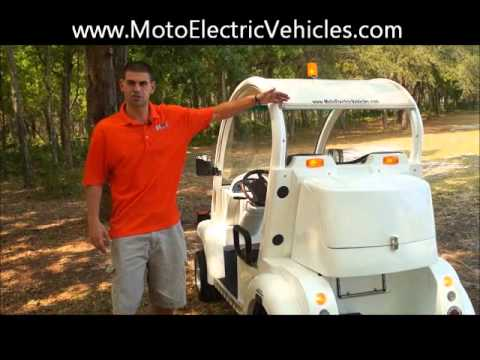 2 Passenger Bubble Low Speed Vehicle | citEcar From Moto Electric Vehicles