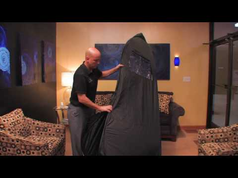 Norvell Pop-Up OverSpray Tent Folding Instructions (Video Module 6)