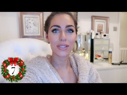 REAL LIFE CHRISTMAS PARTY / GOING OUT-OUT GET READY WITH ME   Vlogmas Day 7