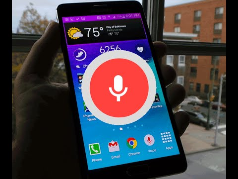 Galaxy Note 4: Ok Google from any screen (even locked!)