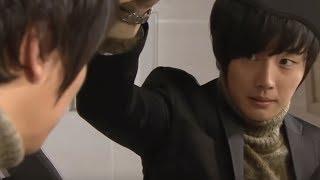 Jung Hyuk bắt chước Seho mặt vest chứng tỏ đàn ông trước mặt Se Kyung