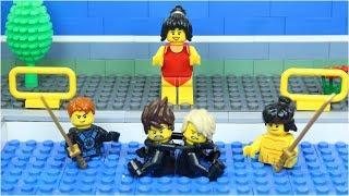 Lego Swimming Pool NinjaGo Suphero Civil War