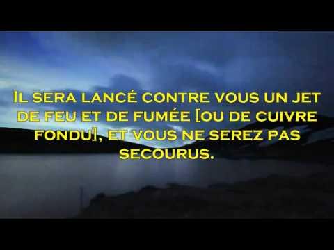 Sourate Ar Rahman (FR) - Maher al Muaiqly coran HD