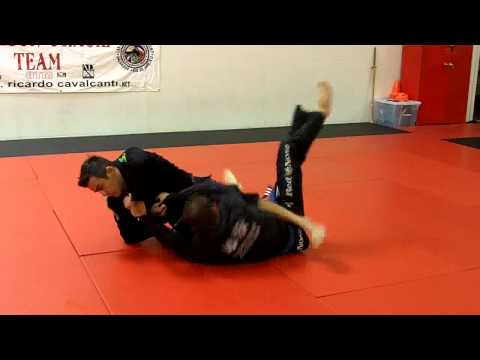 Brazilian Jiu-Jitsu Technique - Scissor Sweep + Triangle / Armbar Options Image 1
