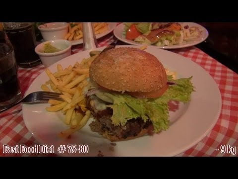FFD #75-80 Burger King - Whopper / Jeff's - Cheesburger / Hard Rock Cafe - Bruschetta - vlog