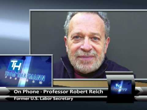 Job's, Economy and Europe's Revolt - Robert Reich