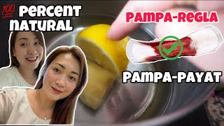 NATURAL & EFFECTIVE PAMPAREGLA FOR IRREGULAR & PAMPAPAYAT + 4 DAYS DAYOFF DUE TO COVID-19 IN SPAIN ?