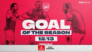 😮THE POWER PODOLSKI'S LEFT FOOT | Arsenal Goal of the season | 2012/13