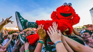 ELMO GOES TO WARPED TOUR! feat. Falling in Reverse & Mayday Parade