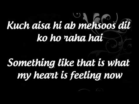 Abhi Mujh Mein Kahin Lyrics & English Translation- Sonu Nigam...