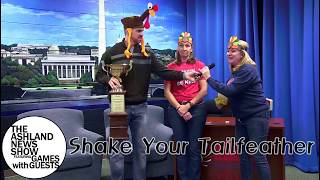 2018 11 20 Games with Guests Shake Your Tail Feather