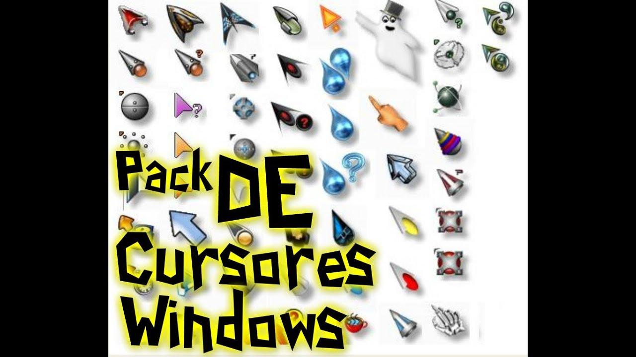 Descarga Pack De Cursores Para Windows 7,Xp,Vista Y 8 - YouTube