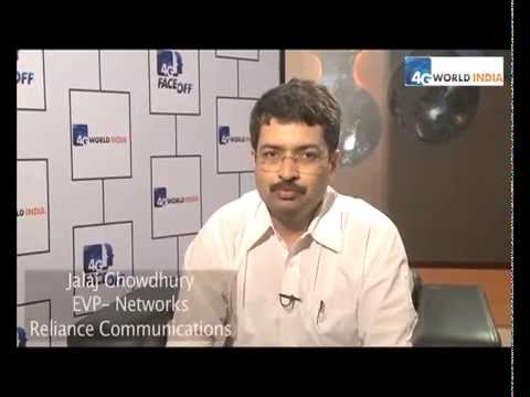 Jalaj Chowdhury, EVP, Networks, Reliance Communications at 4G World India