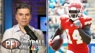 Can Sammy Watkins stay hot with Tyreek Hill out? | Pro Football Talk | NBC Sports