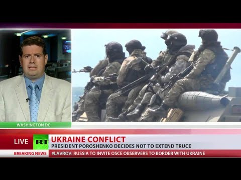 'We will attack & free our land!' Ukraine's president ends ceasefire