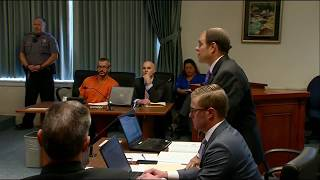 Chris Watts The Colorado Man Accused Of Killing Pregnant Wife Their Two Daughters Appears In Court