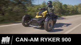 Can-Am RYKER 900 Rally ESSAI POV Auto-Moto