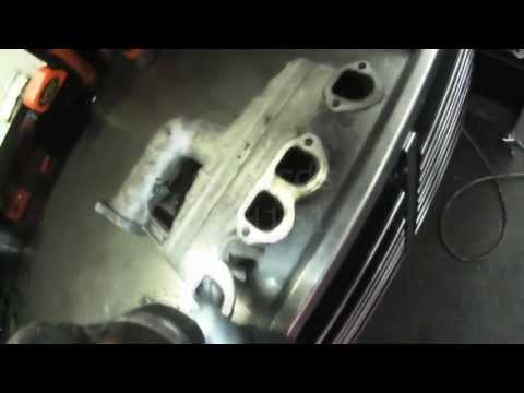 VW A4: ALH Intake Manifold Cleaning (Elbow Grease)