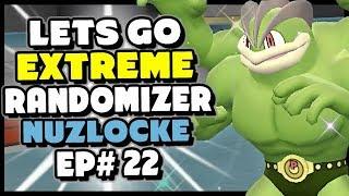 Champion...YOUTUBE! - Pokemon Lets Go Pikachu and Eevee Extreme Randomizer Nuzlocke Episode 22