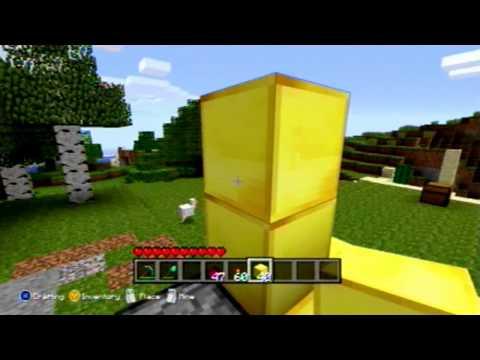 Minecraft Xbox 360: HOW TO BUILD A FULL AUTO ARROW SENTRY GUN!