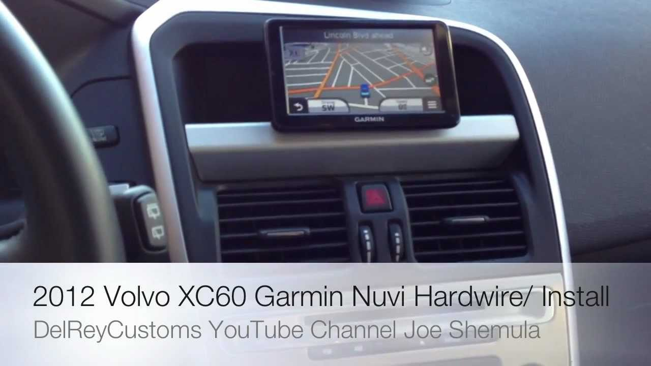 2012 Volvo XC60 GARMIN Nuvi Navigation System Upgrade ADD ON Culver City, CA - YouTube