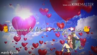 Mujhse sadi krogi animate song whatsapp status