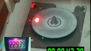 CD exploding 23.000 RPM