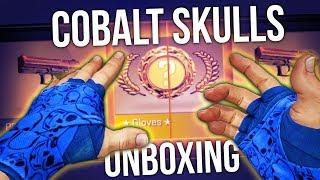 CS:GO COBALT SKULL GLOVES UNBOXING