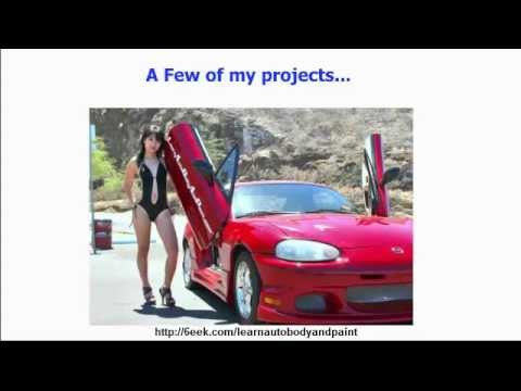 Learn Auto Body And Paint Reviews - The Step by Step DIY Auto Body And Paint Training Course