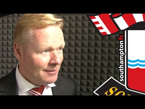 Saints boss Koeman on