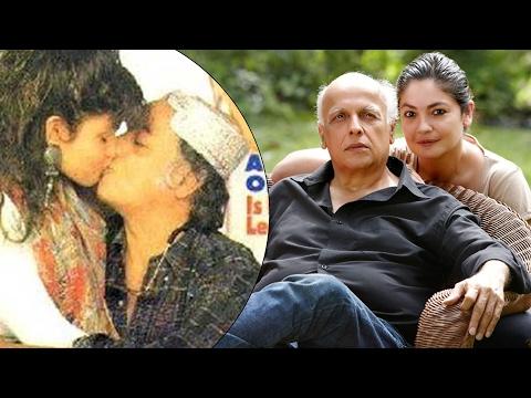 Mahesh Bhatt And Pooja Bhatt Mahesh Bhatt Kisses Daughter