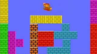 tuper tario tros the movie/tetris'd mario version