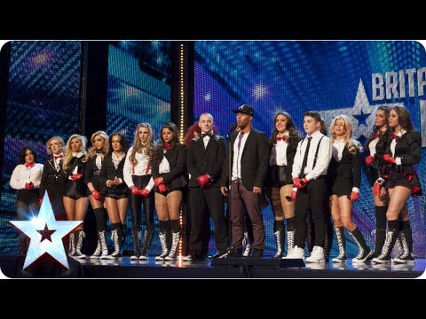 MD Production dance for the third time on BGT | Week 5 Auditions | Britain's Got Talent 2013