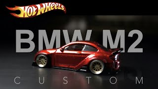 Custom Hot Wheels 16 BMW M2 widebody