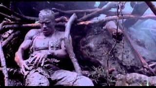 "PREDATOR [1987] Scene: ""He couldn't see me."""