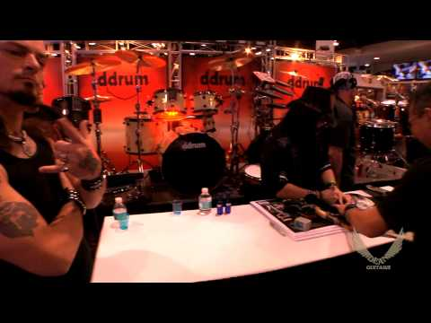 Dean Guitars / DDRUM 2014 N.A.M.M. Artist Signings - Vinnie Paul