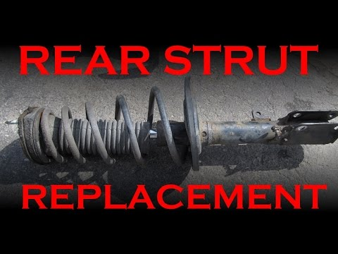 Rear Strut Replacement Toyota Lexus