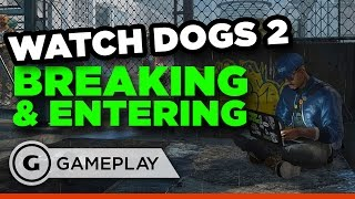 Watch Dogs 2 - Zero Day Test and Data Grab Gameplay