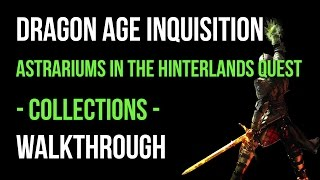 Dragon age inquisition прохождение астрариумов