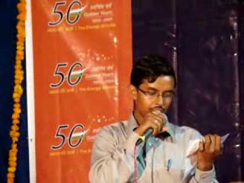 SHER-O-SHAYARI by  Anup on INDIAN OIL DAY.flv