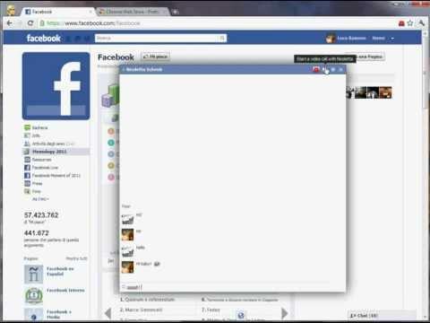 Facebook - Mejora el aspecto del chat añadiendo iconos y más opciones