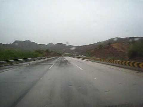 M2 Motorway in Pakistan (drive from Lahore to Chakwal)