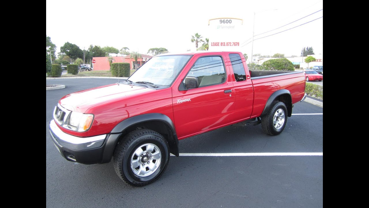 sold 2000 nissan frontier xe v6 desert runner meticulous. Black Bedroom Furniture Sets. Home Design Ideas