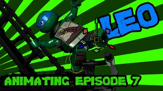 LEGO TMNT Behind the scenes Episode 1: Animating Leo | TwinToo Bricks